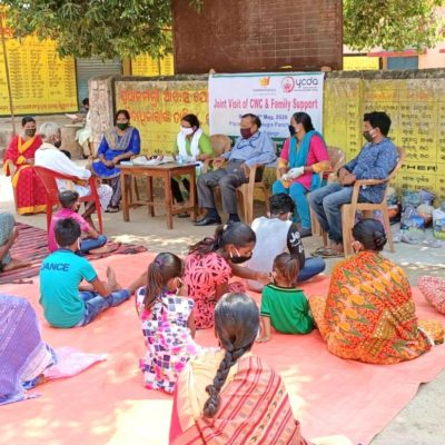Family sponsorship to 8 CNCP children during Covid-19