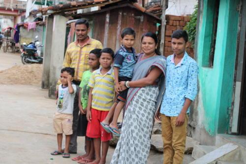 children in group foster family